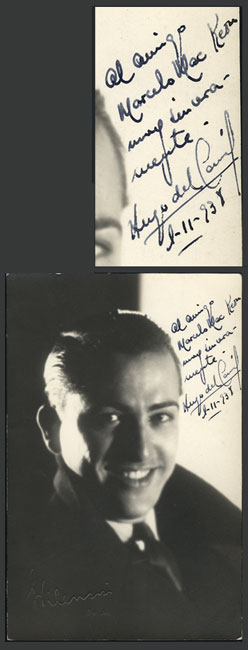 Lot 666 - Argentina autographs -  Guillermo Jalil - Philatino Auction #1949  WORLDWIDE + ARGENTINA: End-of-year general auction