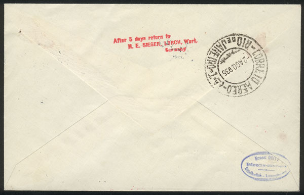 Lot 30 - germany postal history -  Guillermo Jalil - Philatino Auction #1949  WORLDWIDE + ARGENTINA: End-of-year general auction