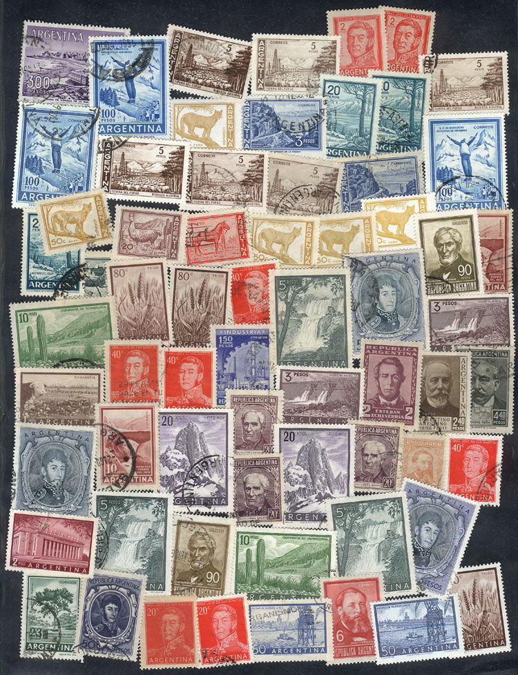 Lot 1689 - Argentina Lots and Collections -  Guillermo Jalil - Philatino Auction #1950 ARGENTINA: