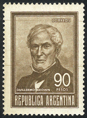 Lot 901 - Argentina general issues -  Guillermo Jalil - Philatino Auction #1950 ARGENTINA: