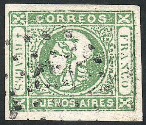 Lot 26 - Argentina cabecitas -  Guillermo Jalil - Philatino Auction #1950 ARGENTINA: