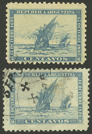 Lot 200 - Argentina general issues -  Guillermo Jalil - Philatino Auction #1950 ARGENTINA:
