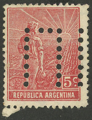 Lot 285 - Argentina general issues -  Guillermo Jalil - Philatino Auction #1950 ARGENTINA: