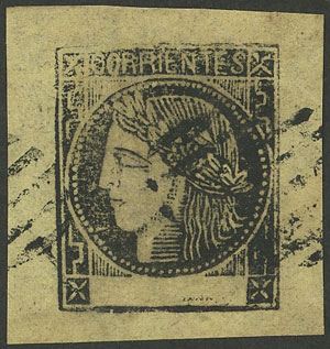 Lot 47 - Argentina corrientes -  Guillermo Jalil - Philatino Auction #1950 ARGENTINA: