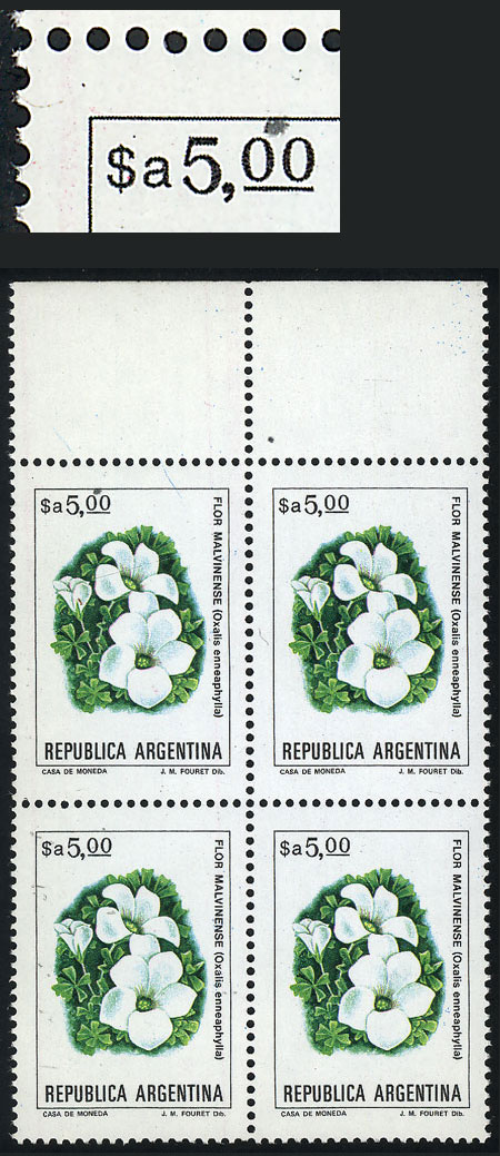Lot 1064 - Argentina general issues -  Guillermo Jalil - Philatino Auction #1950 ARGENTINA: