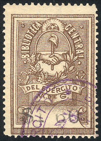 Lot 1661 - Argentina revenue stamps -  Guillermo Jalil - Philatino Auction #1950 ARGENTINA: