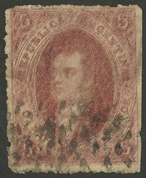 Lot 15 - Argentina rivadavias -  Guillermo Jalil - Philatino Auction # 2004 ARGENTINA: Special January auction, 101 RARE LOTS 101!
