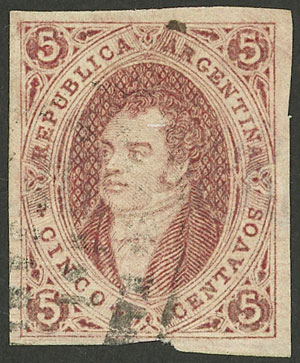 Lot 20 - Argentina rivadavias -  Guillermo Jalil - Philatino Auction # 2004 ARGENTINA: Special January auction, 101 RARE LOTS 101!