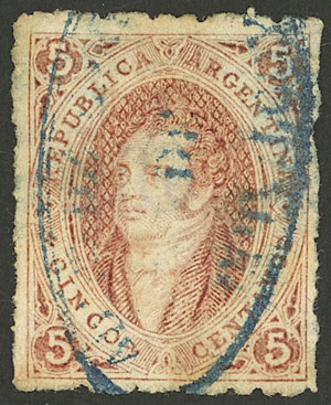 Lot 22 - Argentina rivadavias -  Guillermo Jalil - Philatino Auction # 2004 ARGENTINA: Special January auction, 101 RARE LOTS 101!
