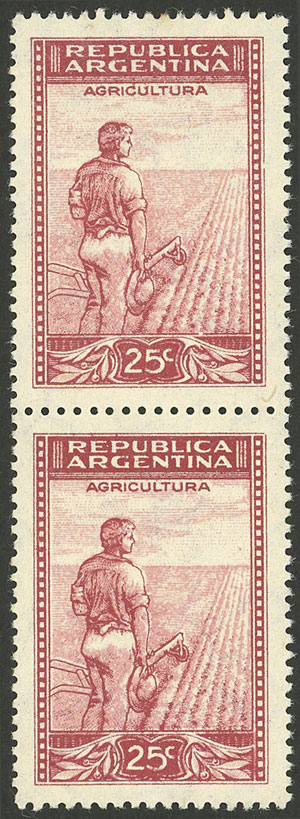 Lot 41 - Argentina general issues -  Guillermo Jalil - Philatino Auction # 2004 ARGENTINA: Special January auction, 101 RARE LOTS 101!