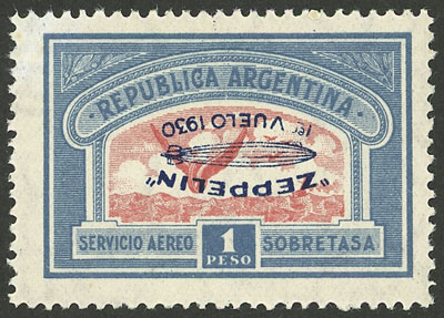 Lot 96 - Argentina airmail -  Guillermo Jalil - Philatino Auction # 2004 ARGENTINA: Special January auction, 101 RARE LOTS 101!