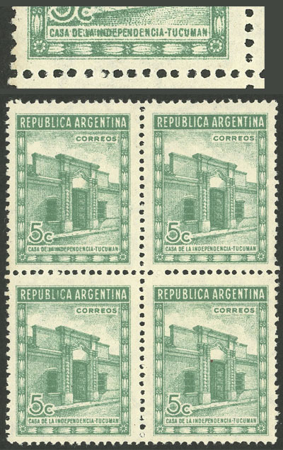 Lot 72 - Argentina general issues -  Guillermo Jalil - Philatino Auction # 2004 ARGENTINA: Special January auction, 101 RARE LOTS 101!
