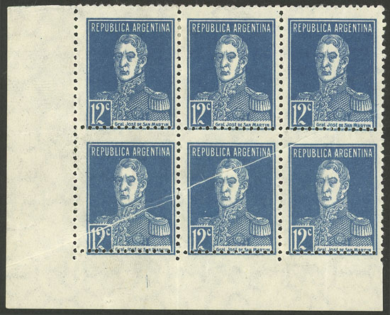 Lot 32 - Argentina general issues -  Guillermo Jalil - Philatino Auction # 2004 ARGENTINA: Special January auction, 101 RARE LOTS 101!