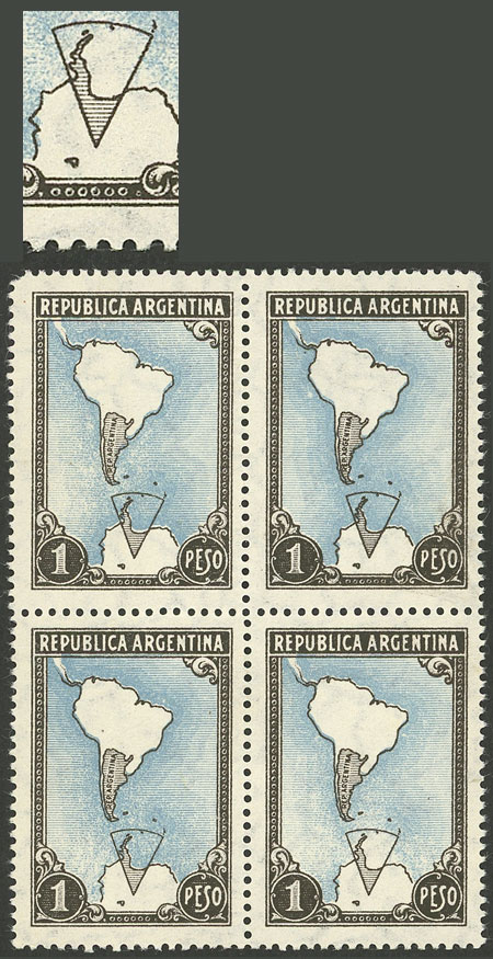 Lot 68 - Argentina general issues -  Guillermo Jalil - Philatino Auction # 2004 ARGENTINA: Special January auction, 101 RARE LOTS 101!