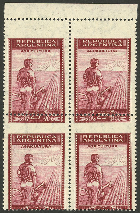 Lot 42 - Argentina general issues -  Guillermo Jalil - Philatino Auction # 2004 ARGENTINA: Special January auction, 101 RARE LOTS 101!