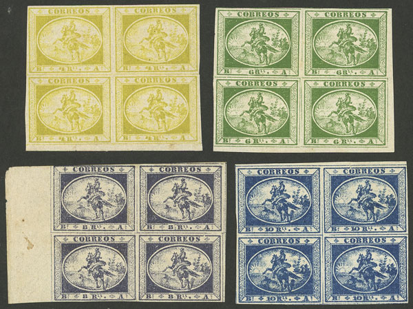 Lot 2 - Argentina gauchitos -  Guillermo Jalil - Philatino Auction # 2004 ARGENTINA: Special January auction, 101 RARE LOTS 101!