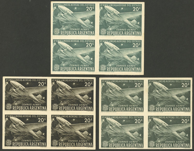 Lot 99 - Argentina airmail -  Guillermo Jalil - Philatino Auction # 2004 ARGENTINA: Special January auction, 101 RARE LOTS 101!
