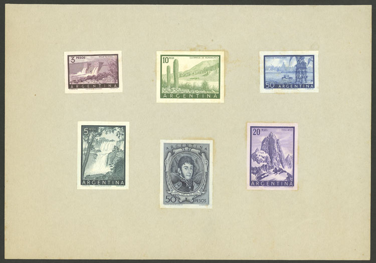 Lot 78 - Argentina general issues -  Guillermo Jalil - Philatino Auction # 2004 ARGENTINA: Special January auction, 101 RARE LOTS 101!