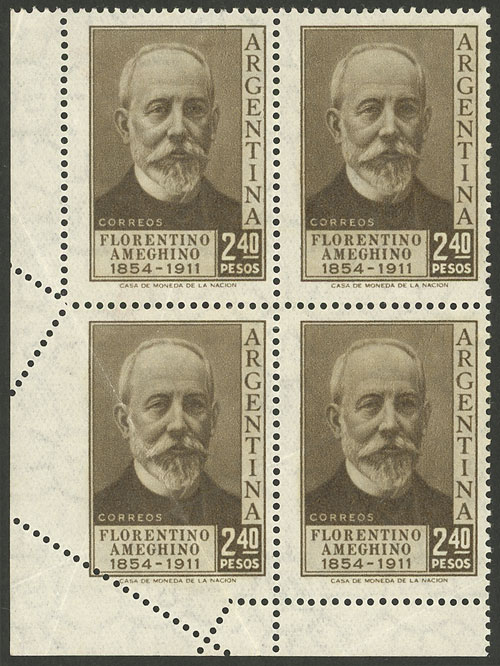Lot 82 - Argentina general issues -  Guillermo Jalil - Philatino Auction # 2004 ARGENTINA: Special January auction, 101 RARE LOTS 101!