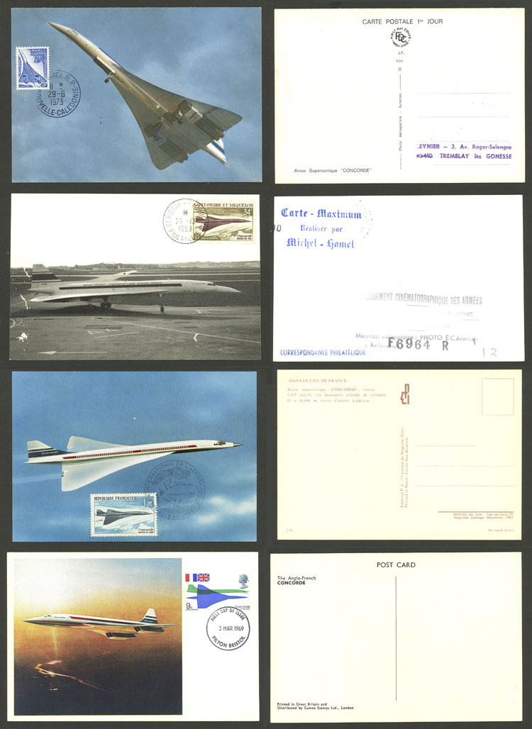 Lot 15 - topic aviation Lots and Collections -  Guillermo Jalil - Philatino Auction # 2006 WORLDWIDE + ARGENTINA: Selection of covers of all periods, cards, postal stationeries and more!