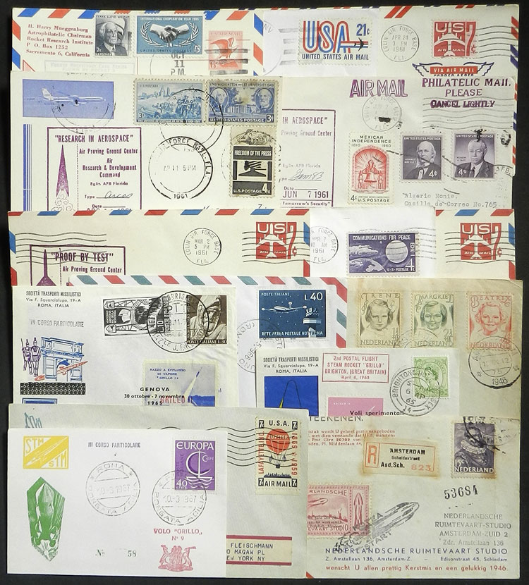 Lot 4 - topic aviation postal history -  Guillermo Jalil - Philatino Auction # 2006 WORLDWIDE + ARGENTINA: Selection of covers of all periods, cards, postal stationeries and more!