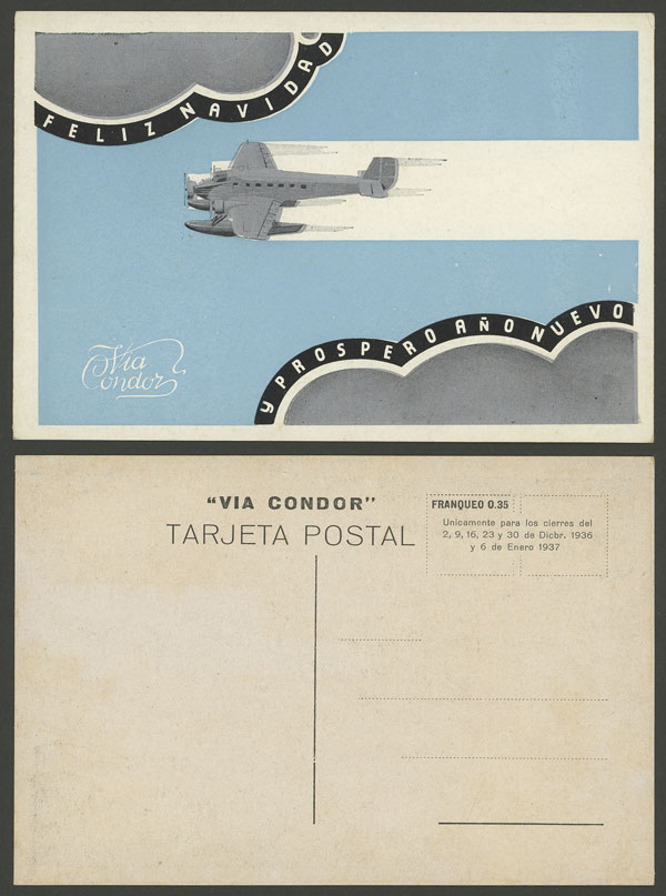Lot 218 - Argentina postcards -  Guillermo Jalil - Philatino Auction # 2006 WORLDWIDE + ARGENTINA: Selection of covers of all periods, cards, postal stationeries and more!
