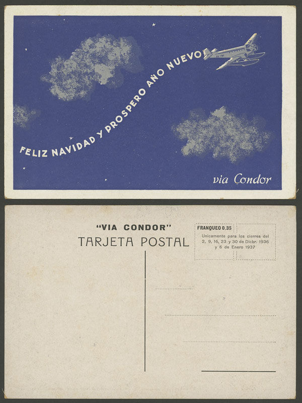 Lot 217 - Argentina postcards -  Guillermo Jalil - Philatino Auction # 2006 WORLDWIDE + ARGENTINA: Selection of covers of all periods, cards, postal stationeries and more!