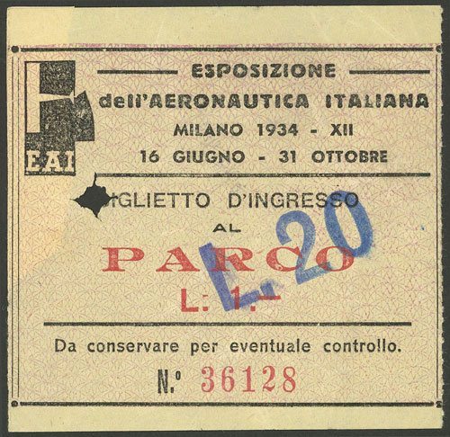 Lot 644 - Italy other items -  Guillermo Jalil - Philatino Auction # 2006 WORLDWIDE + ARGENTINA: Selection of covers of all periods, cards, postal stationeries and more!