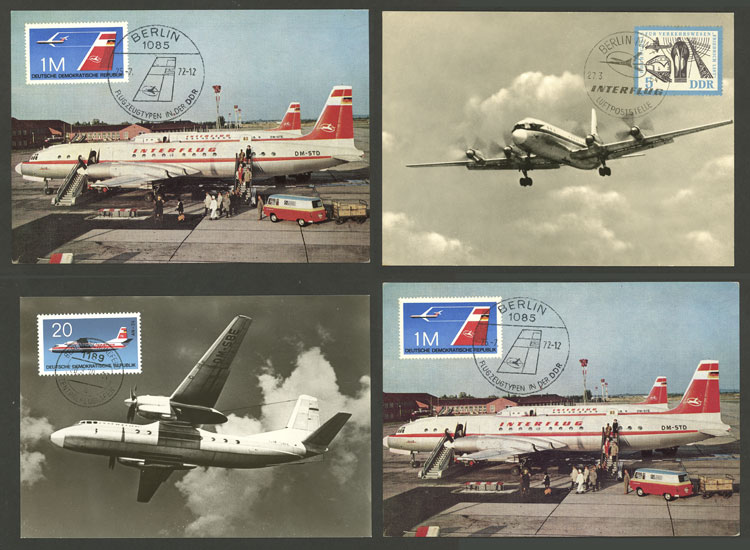 Lot 7 - topic aviation Lots and Collections -  Guillermo Jalil - Philatino Auction # 2006 WORLDWIDE + ARGENTINA: Selection of covers of all periods, cards, postal stationeries and more!