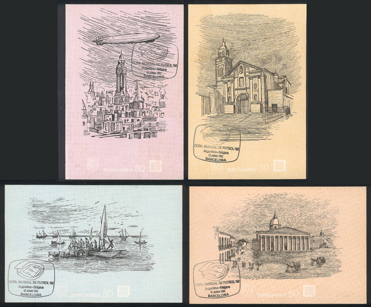 Lot 205 - Argentina postal history -  Guillermo Jalil - Philatino Auction # 2006 WORLDWIDE + ARGENTINA: Selection of covers of all periods, cards, postal stationeries and more!