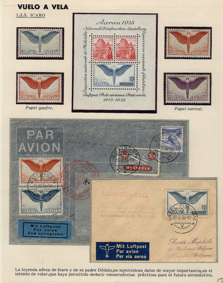 Lot 5 - topic aviation Lots and Collections -  Guillermo Jalil - Philatino Auction # 2006 WORLDWIDE + ARGENTINA: Selection of covers of all periods, cards, postal stationeries and more!