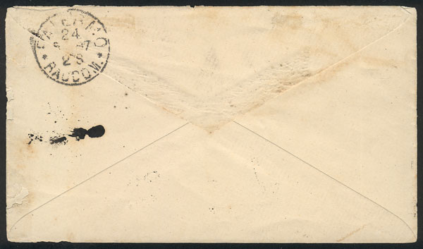 Lot 142 - Argentina postal history -  Guillermo Jalil - Philatino Auction # 2006 WORLDWIDE + ARGENTINA: Selection of covers of all periods, cards, postal stationeries and more!