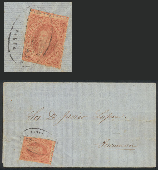Lot 106 - Argentina rivadavias -  Guillermo Jalil - Philatino Auction # 2006 WORLDWIDE + ARGENTINA: Selection of covers of all periods, cards, postal stationeries and more!