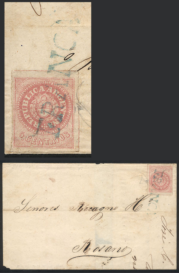 Lot 99 - Argentina escuditos -  Guillermo Jalil - Philatino Auction # 2006 WORLDWIDE + ARGENTINA: Selection of covers of all periods, cards, postal stationeries and more!