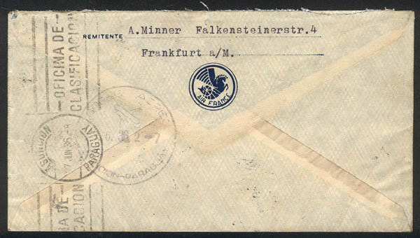 Lot 49 - germany postal history -  Guillermo Jalil - Philatino Auction # 2006 WORLDWIDE + ARGENTINA: Selection of covers of all periods, cards, postal stationeries and more!