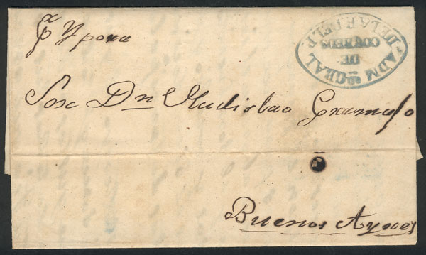Lot 703 - Paraguay postal history -  Guillermo Jalil - Philatino Auction # 2006 WORLDWIDE + ARGENTINA: Selection of covers of all periods, cards, postal stationeries and more!