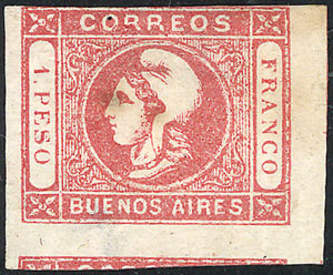 Lot 6 - Argentina buenos aires -  Guillermo Jalil - Philatino Auction # 2007  ARGENTINA: small but very attractive auction