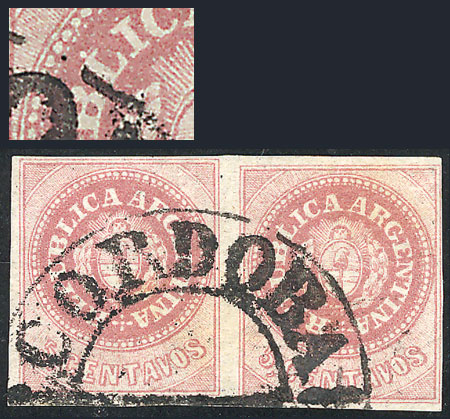 Lot 44 - Argentina escuditos -  Guillermo Jalil - Philatino Auction # 2007  ARGENTINA: small but very attractive auction