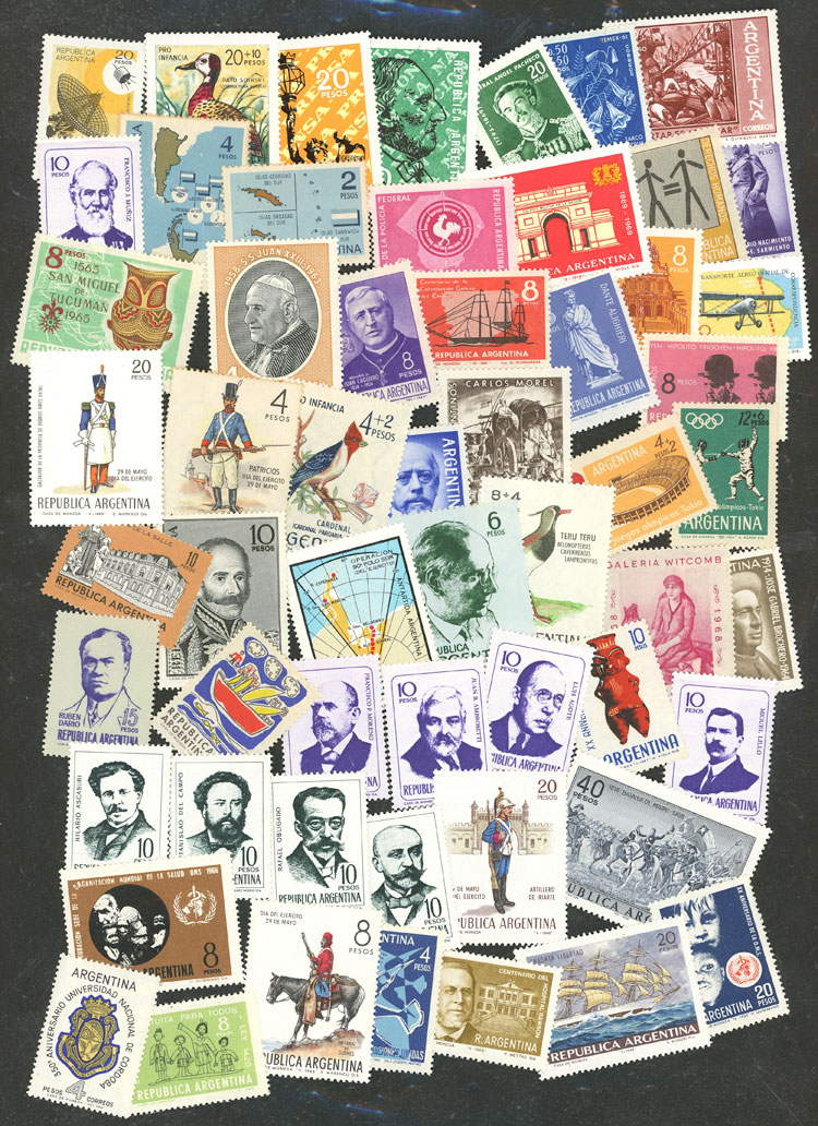 Lot 1080 - Argentina Lots and Collections -  Guillermo Jalil - Philatino Auction # 2007  ARGENTINA: small but very attractive auction