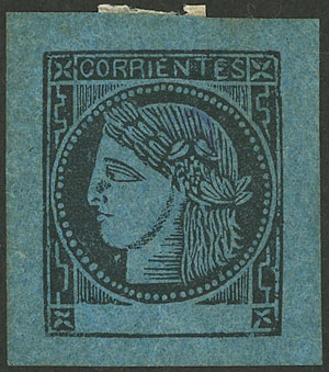 Lot 9 - Argentina corrientes -  Guillermo Jalil - Philatino Auction # 2007  ARGENTINA: small but very attractive auction