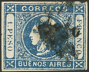 Lot 2 - Argentina buenos aires -  Guillermo Jalil - Philatino Auction # 2007  ARGENTINA: small but very attractive auction