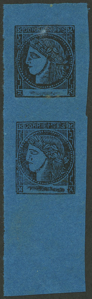 Lot 23 - Argentina corrientes -  Guillermo Jalil - Philatino Auction # 2007  ARGENTINA: small but very attractive auction