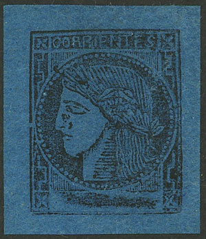 Lot 21 - Argentina corrientes -  Guillermo Jalil - Philatino Auction # 2007  ARGENTINA: small but very attractive auction