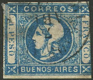 Lot 3 - Argentina buenos aires -  Guillermo Jalil - Philatino Auction # 2007  ARGENTINA: small but very attractive auction