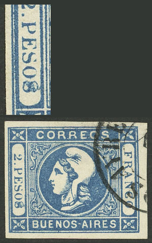 Lot 5 - Argentina buenos aires -  Guillermo Jalil - Philatino Auction # 2007  ARGENTINA: small but very attractive auction
