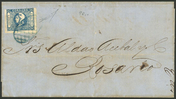 Lot 4 - Argentina buenos aires -  Guillermo Jalil - Philatino Auction # 2007  ARGENTINA: small but very attractive auction