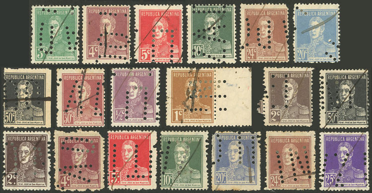 Lot 1086 - Argentina Lots and Collections -  Guillermo Jalil - Philatino Auction # 2007  ARGENTINA: small but very attractive auction