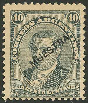 Lot 152 - Argentina general issues -  Guillermo Jalil - Philatino Auction # 2007  ARGENTINA: small but very attractive auction