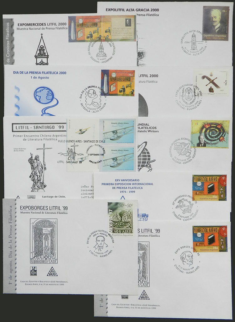 Lot 1087 - Argentina Lots and Collections -  Guillermo Jalil - Philatino Auction # 2007  ARGENTINA: small but very attractive auction