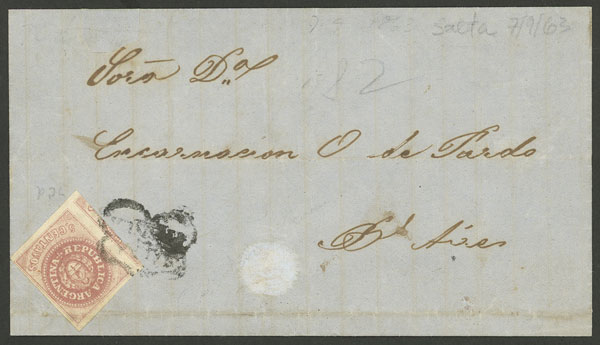 Lot 43 - Argentina escuditos -  Guillermo Jalil - Philatino Auction # 2007  ARGENTINA: small but very attractive auction